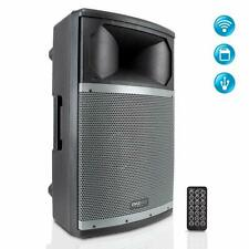 Wireless Bluetooth Pa Speaker System Portable Active Powered 1000W 2 Way Outdoor