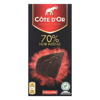 Côte d'Or Noir Intense 70% Ca­cao Chocolate Bar Noir Cote Dor 100G
