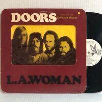 The Doors L.A. WOMAN 1971 Elektra EKS-75011 wlp MEGA RARE 1st Issue PROMO G+