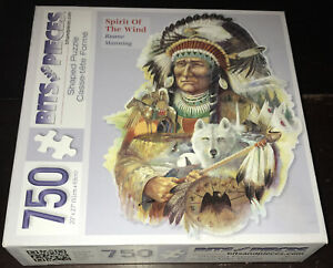 Bits and Pieces Spirit Of The Wind 750 Piece Jigsaw Puzzle Ruane Manning Indian