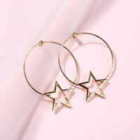Fashion Simple European and American Earrings Wild Ladies Fashion Star Jewelry