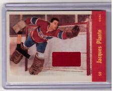 JACQUES PLANTE 01/02 Parkhurst Vintage Memorabilia Jersey /90 RARE SP Canadiens