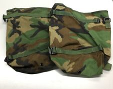 (2) USGI US MILITARY MOLLE II RADIO POUCH Rifleman Backpack Woodland Camo New