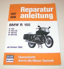 Reparaturanleitung BMW R 100 / R 100 CS / R 100 RT / R 100 RS - ab 1980!