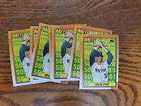 1990 Topps Nolan Ryan New York Mets #2 Baseball Card lot of 7 vending fresh