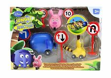 DISNEY JUNIOR – JUNGLE JUNCTION - PLAYSET WITH ZOOTER, ELLYVAN AND BUNGO!