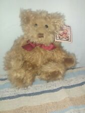 """Russ Berries And Company Plush Bear """"Gregory"""", 10"""" in Sitting Position"""