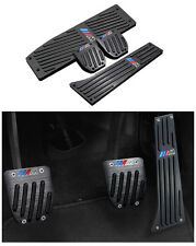 Für BMW X1 X3 E46 E90 E92 E93 E87 3er M Schwarz Alu Pedale MT Pedal