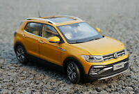 1/18 Scale VW Volkswagen T-CROSS SUV DieCast Car Model Toy Collection