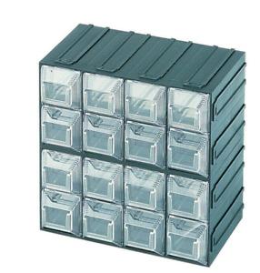 Terry cassetta cassettiera portaminuteria Vision 12 a 16 scomparti cassetti port