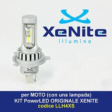 H4 12-24 V LED UNA LAMPADA CANBUS per MOTO OMOLOGATO XENON 6000K+T10 top