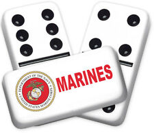 Career Series Marines Design Double six Professional size Dominoes