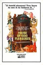 HOUSE OF 1000 PLEASURES Movie POSTER 27x40
