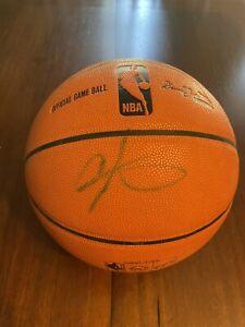 carmelo anthony autographed basketball JSA authenticity