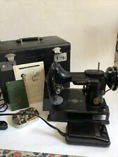 New ListingVintage 1947 Singer Featherweight 221-1 Sewing Machine with Storage Case