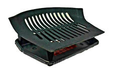 Freestanding Cast Iron Wood Coal Log Open Fire Basket Grate with Ash Tray (NEW)