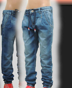 KinderJeans~JungenJeans-STRETCH-Jogger-Hose~Gr.8-16~SchnäppchenCorner~Neu~811k56