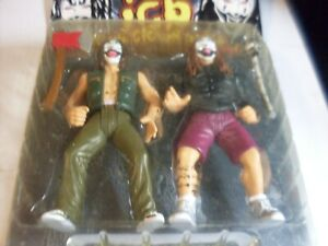 Insane Clown Posse Play With Me Shaggy2Dope, Violent J 1999 Action Figures