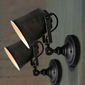 Retro Industrial Loft Rustic Wall Sconce Wall Light Fixtures Porch/Bar Lamp