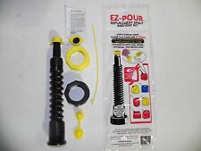 Gas Can Nozzle Spout 1  Fill Kit Blk works with Diesel Water Kerosene & Gas Cans