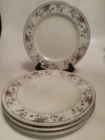 """Clairemont Porclain China Dinner Plates 10"""" Lot of 4 Wade Japan"""
