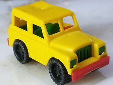 Vintage BRUDER MINI TOY ROVER Made in Germany SNAP TOGETHER antique SUV RARE