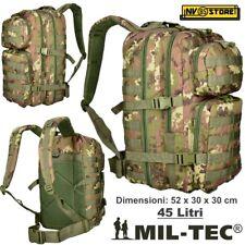 Rucksack Tactical Stealth Mil-Tec Miltec Assault 45-50 Liter Bewachsen Softair