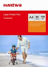OHP Film Clear A4 Overhead Projector For Laser & Copier Transparency - 60 Sheets
