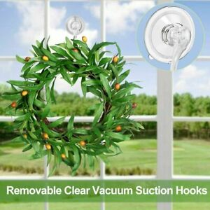 Heavy Duty Suction Cup Hook Transparent Suction Cup Wall Hanger Kitchen ( 6 Pcs)