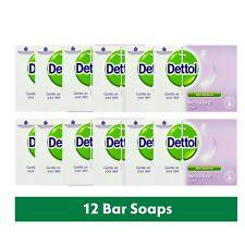 12 x Dettol Antibacterial Moisturising Sensitive Bar Soap 100 g