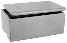 Neopor Thermo Styroporbox 60x40x26cm mit Deckel Ca. 39