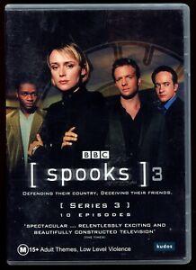 Spooks Season 3 (3xDVD UK TV Series) R4