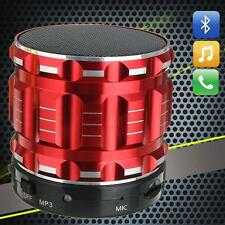 Wireless Bluetooth Speaker Mini SUPER BASS Portable For Smartphone Tablet Red MT