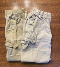 Boys Lands End, iron knee cargo pants, size 12, lot of 2, Euc, nice!