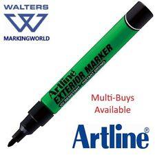 Artline Exterior Permanent Ink Marker Pen - Marks Timber, Metal, Stone & Plastic