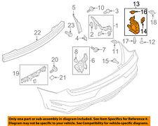 FORD OEM 15-17 Mustang Rear Bumper-End Support Left FR3Z17D943A