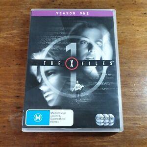 The X Files Season One 1 DVD R4 Like New! FREE POST