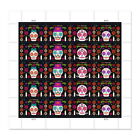 USPS New Day of the Dead Pane of 20 <br/> Buy with confidence: Official Postal Store on eBay
