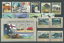 Faroe Islands Complete Year Set 1990 MNH **.