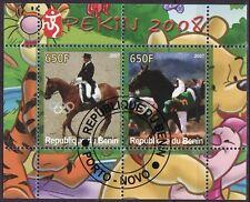 Benin 2007 - Dieren/Animals/Tiere  (Paarden/Horses/Pferde) & Sport