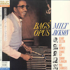 BAGS' OPUS: MILT JACKSON (w/Art Farmer/Benny Golson) NEW CD-Japan w/OBI
