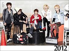 SHINee 2012 SM OFFICIAL DESK CALENDAR NEW
