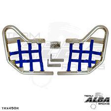 TRX 450R TRX450R Honda   Nerf Bars  Alba Racing Pro Elite  Silver/Blue 218-T1-SL