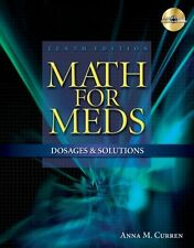 Available Titles 321 Calc!Dosage Calculations Online Ser.: Math for Meds :...