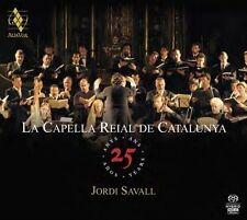 La Capella Reial de Catalunya: 25 Years Super Audio Hybrid CD (NEW 4CDs 2013)
