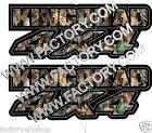 King Quad 4x4 Camo Gas Tank Graphics Decal Sticker Atv Kingquad 750 300 plastic