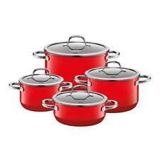 Silit Passion Red Topfset 4 teilig mit Bratentopf Rot 4tlg. Silargan Induktion