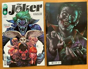 JOKER #4 2021 March Main + Lucio Parrillo Variant Set DC Comics NM