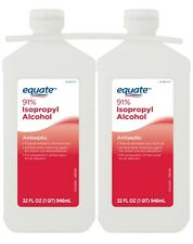 EQUATE 32oz 91 Isopropyl Alcohol 2 Count -