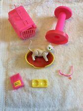 Vintage Mattel Barbie Pet Kitten Cat Fluffy 1982